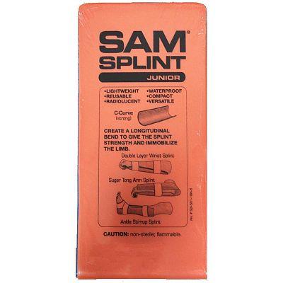 Easy Cleaning And Disinfection Material  Provides Added Stability Sam Splint