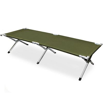 Cama de camping plegable de aleación de aluminio