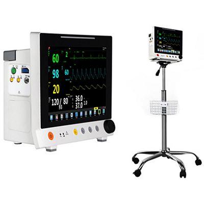 Monitor de paciente modular con pantalla